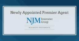 a banner for njm premier agent designation