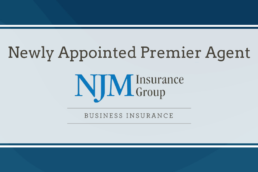 a banner for njm premier agent designation
